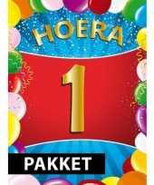 1 jarige feestversiering pakket