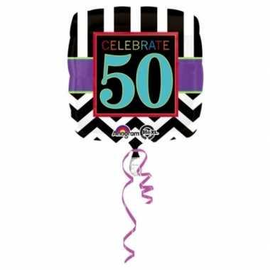 50 jaar geworden gevulde heliumballon