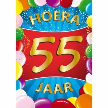 55 Jaar Mega Deurposter Verjaardag Versiering Nl