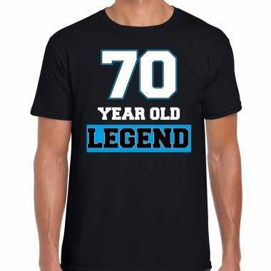 70 legend verjaardag cadeau t-shirt zwart voor heren