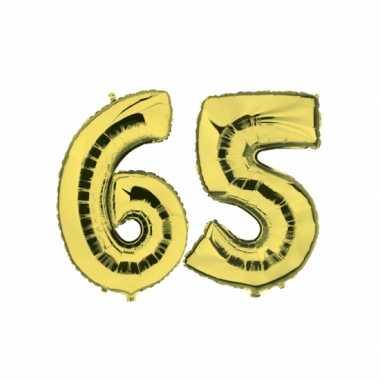 Gouden opblaasbare 65 folie ballonnen