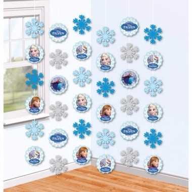 Hangdecoratie slingers frozen 2 meter