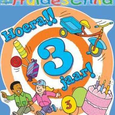Hoera 3 Jaar Huldebord Verjaardag Versiering Nl