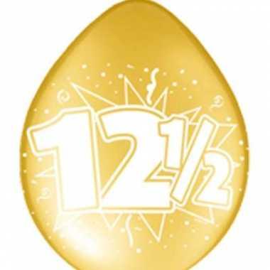 Koperen jubileum ballon 12,5 jaar