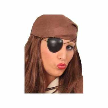 Piraten feest ooglapjes