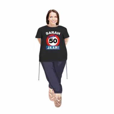 Sarah pop opvulbaar met sarah stopbord 50 jaar pop shirt/ kleding