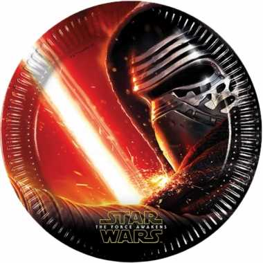 Star wars partijtje feestbordjes 16x