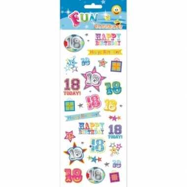 Stickers 18-jarige