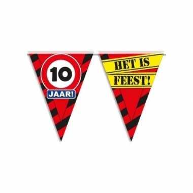 Vlaggenlijn 10e verjaardag