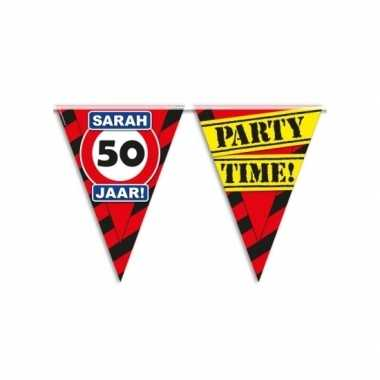 Vlaggenlijn 50e verjaardag