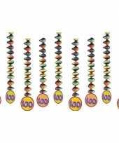 100 jaar decoratie spiralen 9x