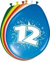 16x stuks ballonnen 12 jaar