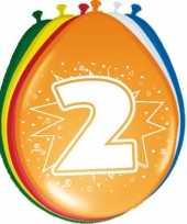 24x stuks ballonnen 2 jaar