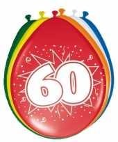 24x stuks ballonnen 60 jaar