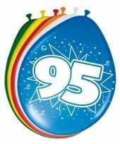 24x stuks ballonnen 95 jaar