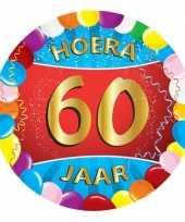 25 gekleurde bierviltjes 60 jaar