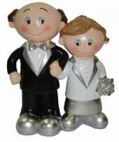 25 jarig huwelijk poppetjes