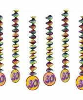 30 jaar decoratie spiralen 10153303