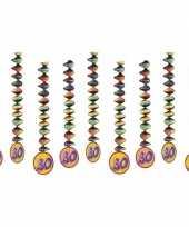 30 jaar decoratie spiralen 10153304