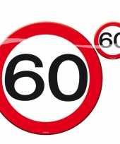 60 jaar placemats onderzetters