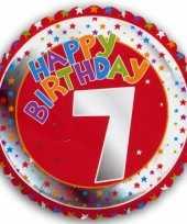 7 jaar helium ballon happy birthday