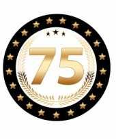 Bierviltjes 75 jaar rhodium jubileum