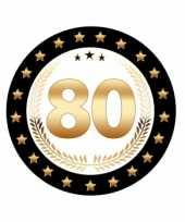 Bierviltjes 80 jaar eiken jubileum