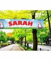 Groot sarah spandoek 200 cm