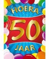 Grote leeftijd poster 50 jaar