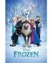 Kinderkamer poster frozen 10063143