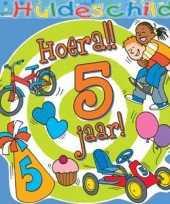 Kleurrijk huldebord 5 jaar