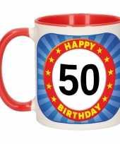 Mok verjaardag 50 jaar 300 ml