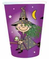 Papieren bekertjes heksen feest
