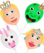 Prins en prinses ballonnen pakket