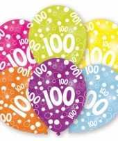 Thema 100 jaar ballonnen