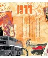 Verjaardagskaart 40 jaar met muziek uit 1980