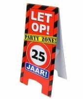 Vloerbord 25e verjaardag