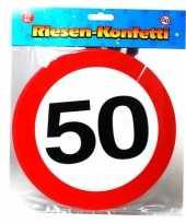 Xxl confetti 50 jaar